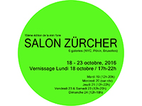 Participation to Salon Zürcher in Paris, 18-23 Oct 2016
