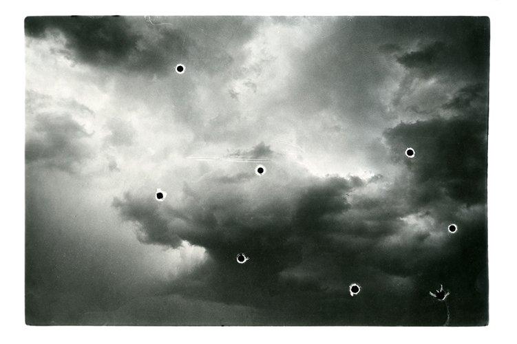 Black Spots in Clouds